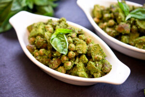 Pesto Potato Chickpea Salad 1