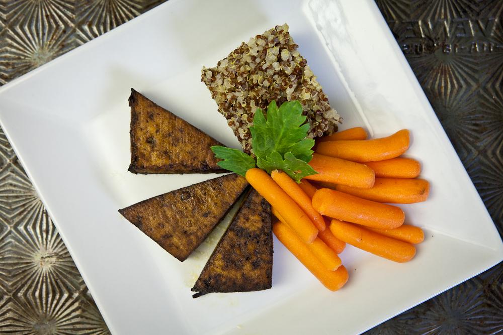 Basic Baked Tofu & Quinoa