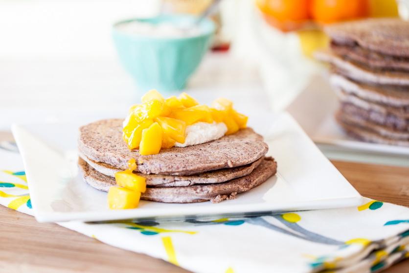 Blue Corn Pancakes 6