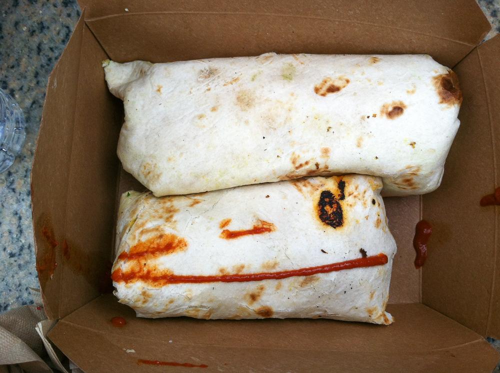 The Cinnamon Snail Breakfast Burritos