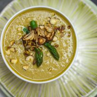 Cream of Asparagus Soup | Keepin' It Kind