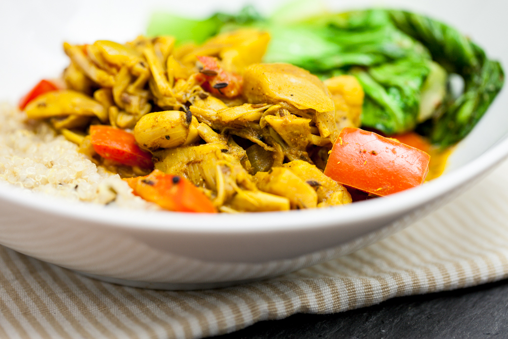 Jackfruit Curry 1