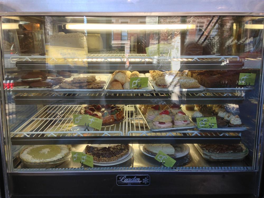 Peace Food Cafe Dessert Case