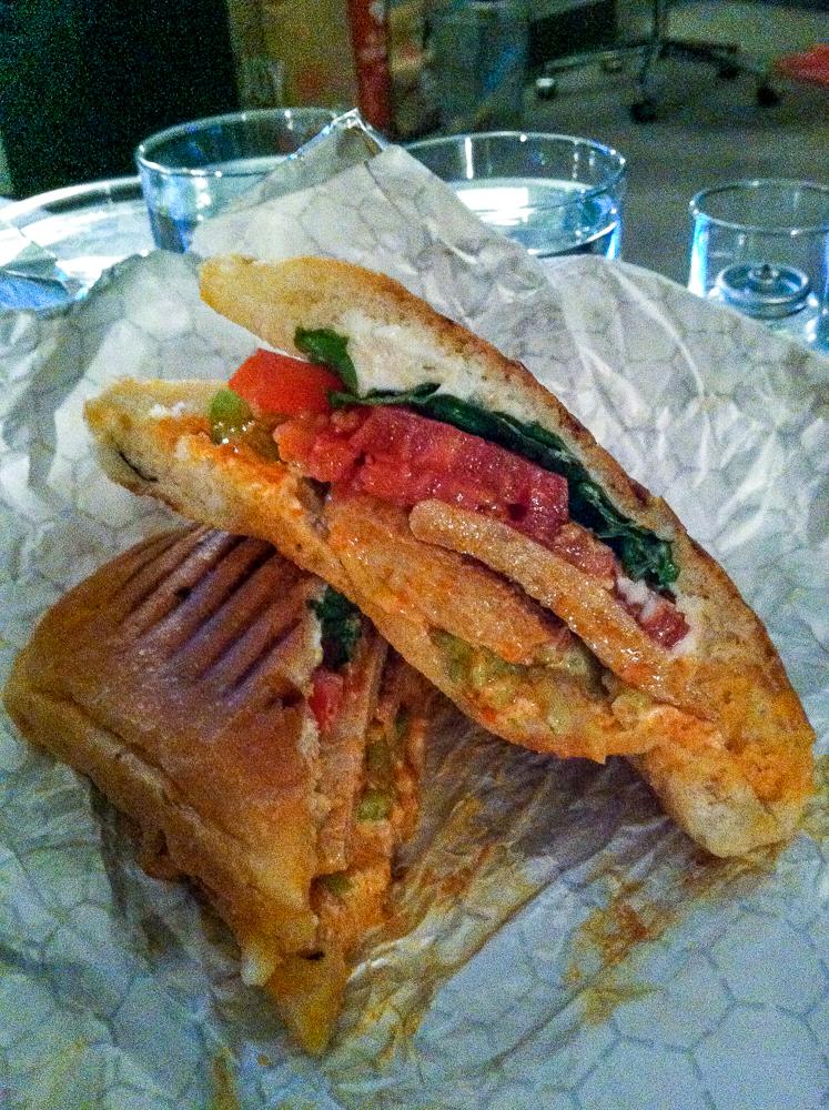 Terri NYC Buffalo Chicken Sandwich
