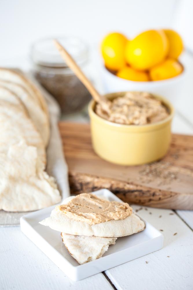 Miso Cumin White Bean Hummus