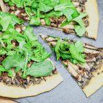 Portobello Carpaccio Pizza | Keepin' It Kind