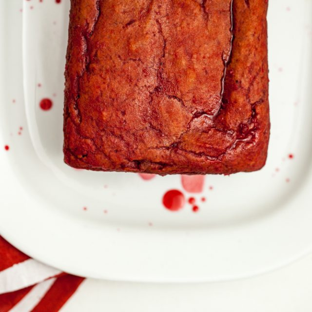 Saffron Blood Orange Pound Cake | Keepin' It Kind