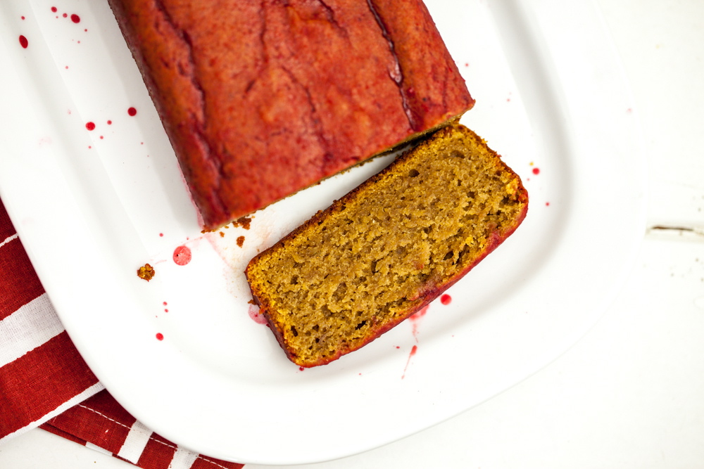 Saffron Blood Orange Pound Cake