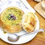 Spinach Artichoke Soup
