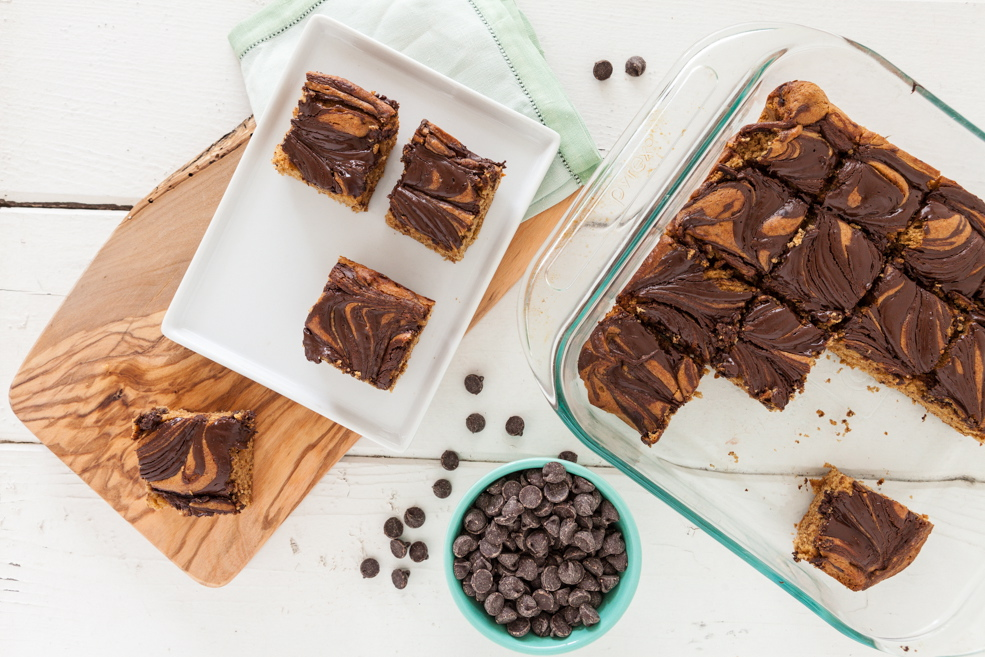 Nut Butter Fantasy Brownies