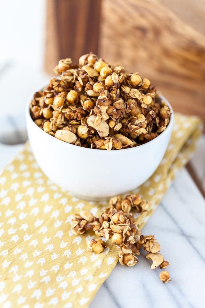 Caramel Corn Granola