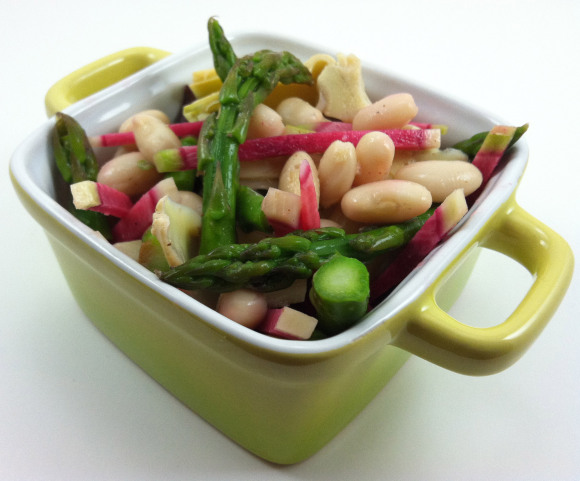 White Bean, Asparagus & Artichoke Salad