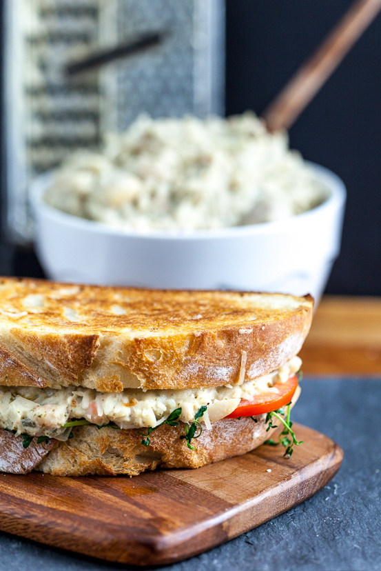 "Jackfruit ""Tuna"" Melt Sandwich"