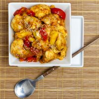 Sweet & Sour Cauliflower with Pineapple