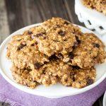 Virtual Vegan Potluck: Oatmeal Cherry Chocolate Chip Cookies