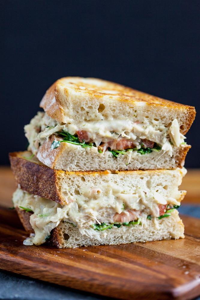 Jackfruit 'Tuna' Melt Sandwiches