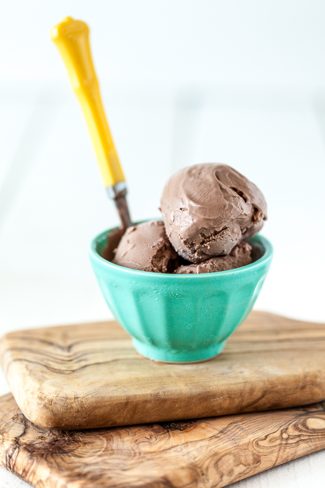 Peanut Butter Dark Chocolate Dream Ice Cream