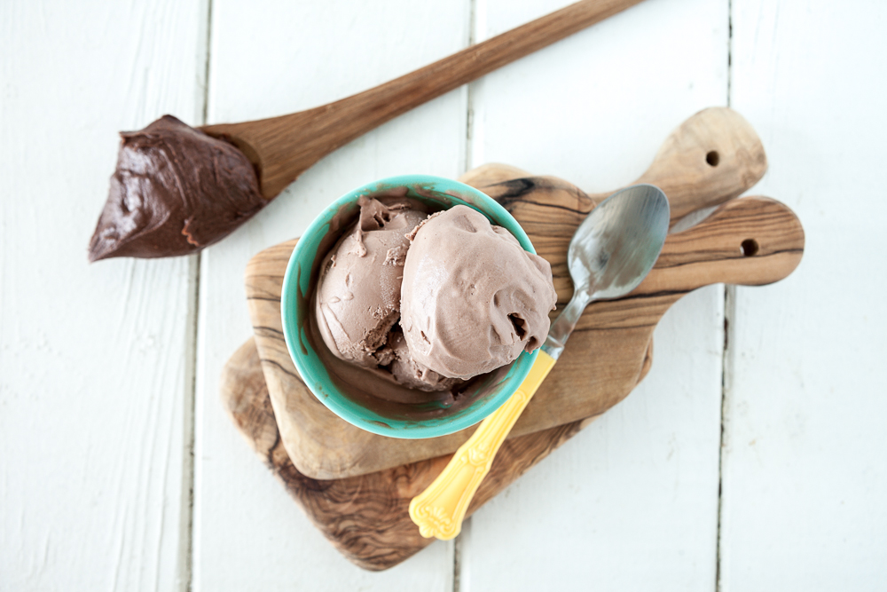 Dark Chocolate Peanut Butter Ice Cream