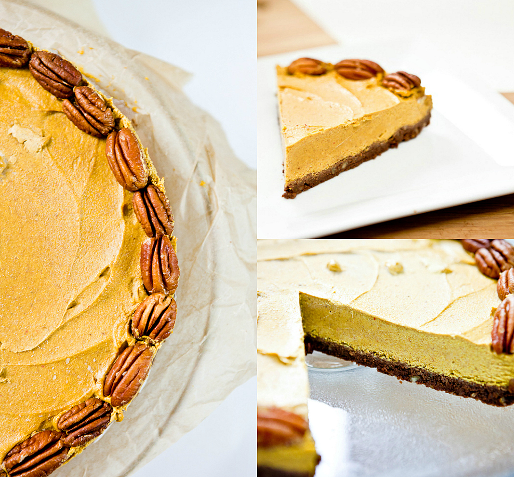 Sriracha Pumpkin Cheesecake