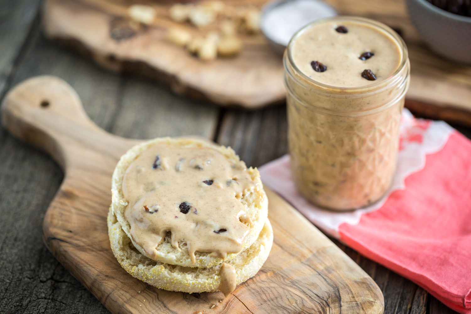 Cinnamon Raisin Peanut Butter