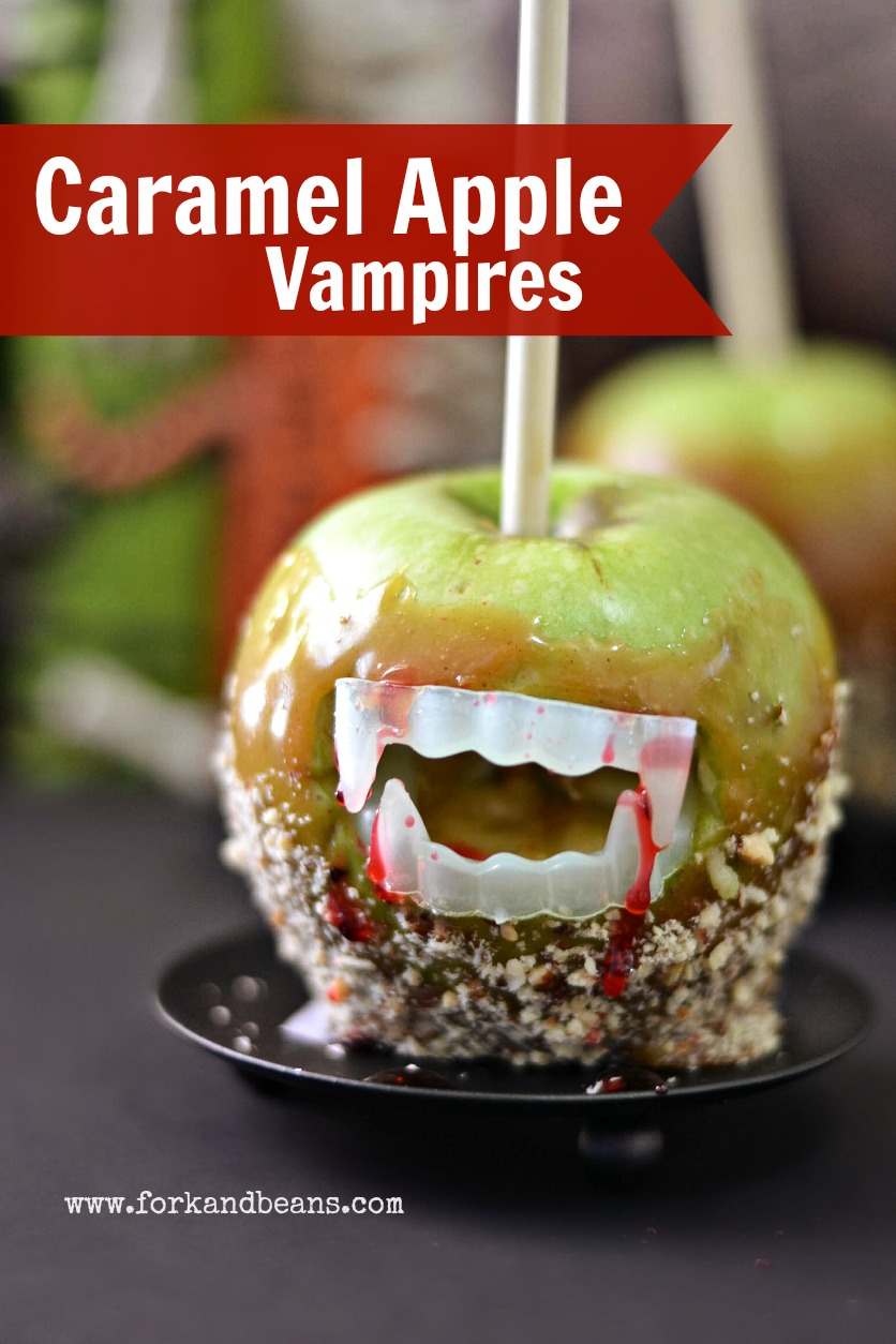 Caramel Apple Vampires