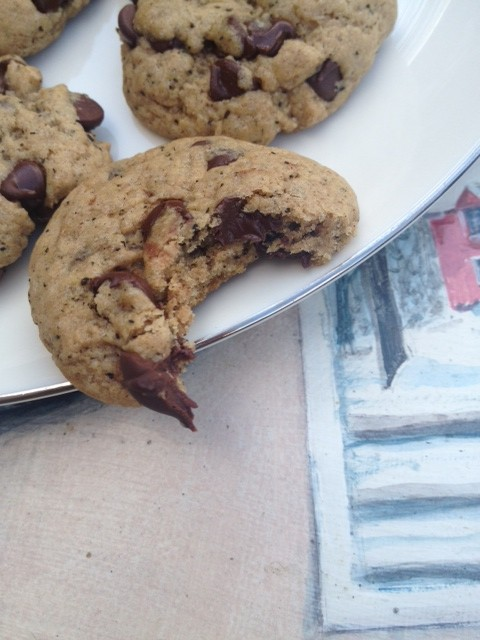 Chai Chocolate Chip Cookies