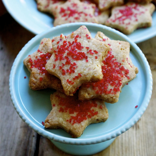 Shira's Cashew Shortbread Cookies