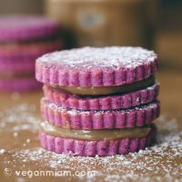 Rika's Sweet Purple Potato Alfajores