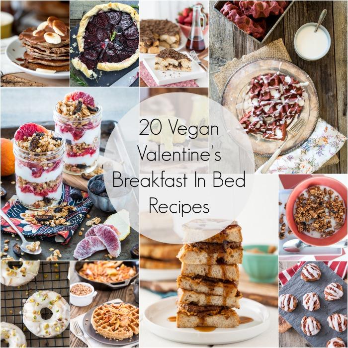 Vegan Valentine's Breakfast