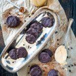 Flourless Double Chocolate Peanut Butter Cookies