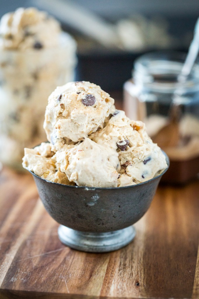 Sugar-Free Snickers Ice Cream