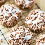 Cinnamon Coffee Cake Muffins + A Review & GIVEAWAY of Decadent Gluten-Free Vegan Baking