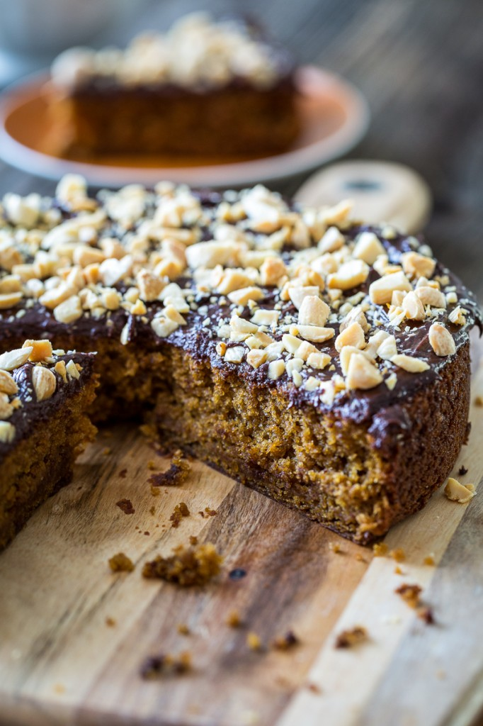 Chocolate, Orange, and Almond Olive Oil Cake
