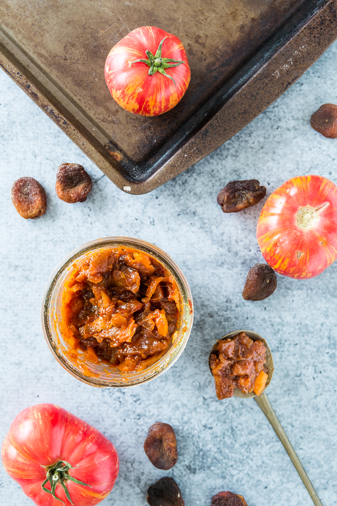 Heirloom Tomato & Apricot Chutney