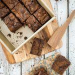 Vegan, Gluten-Free Pumpkin Swirl Brownies