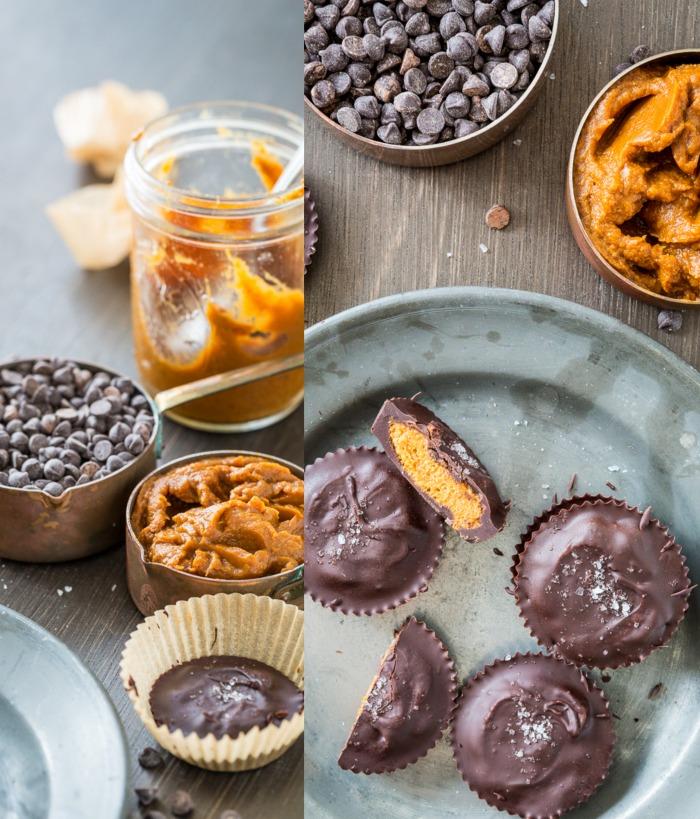 Nut-Free Chocolate Pumpkin Butter Cups