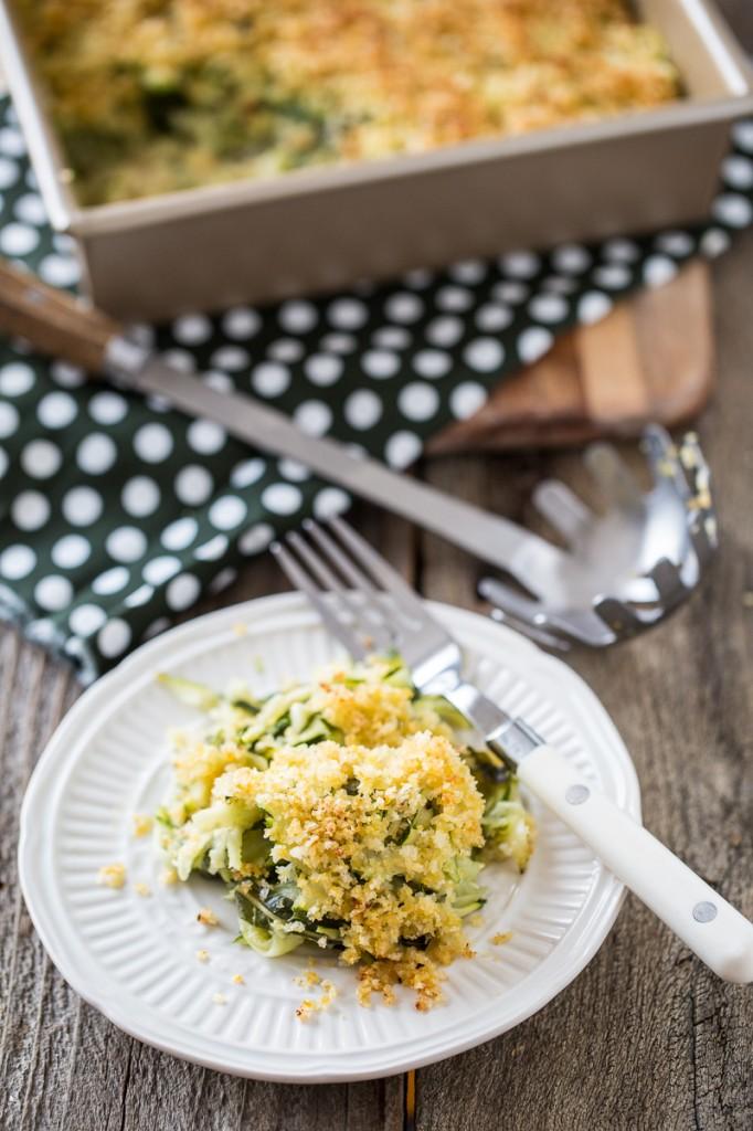 Zucchini Basil Casserole + Vegan Casseroles Giveaway