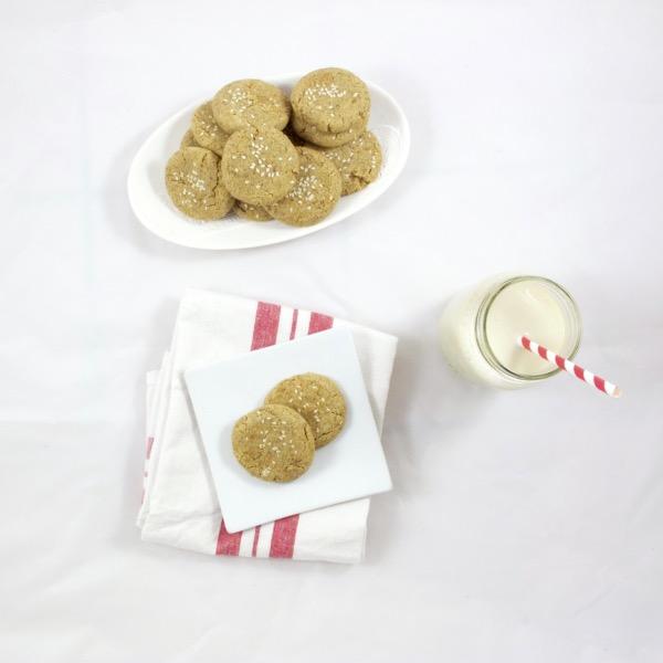 Flourless Sesame Anise Cookies