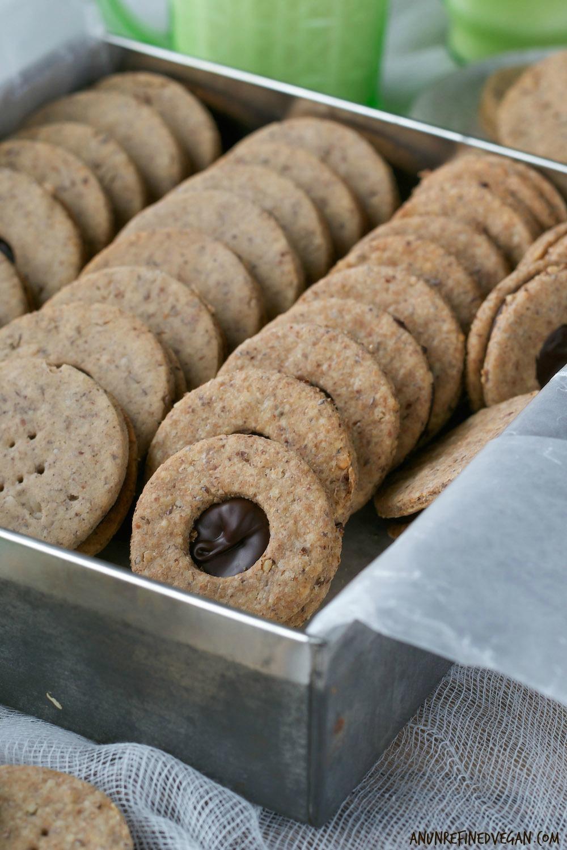 Annie's Chocolate Hazelnut Sandwich Cookies