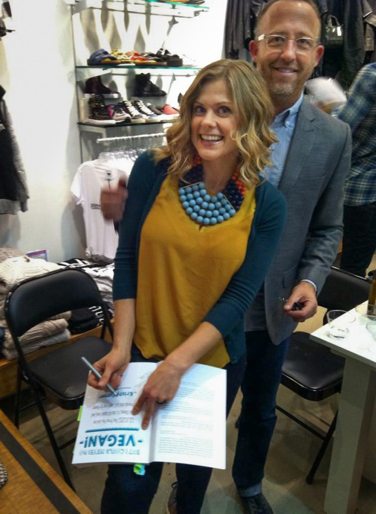 My first book signing at Kitson