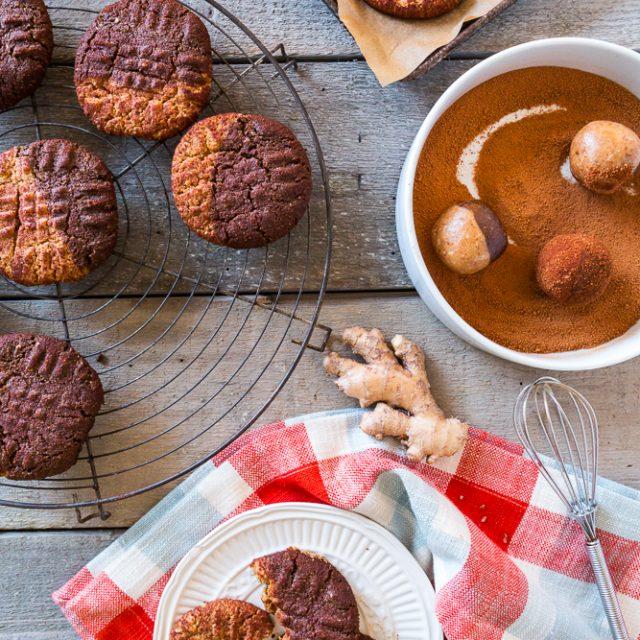 Kristy's Snickersnaps (Vegan + Gluten-Free)