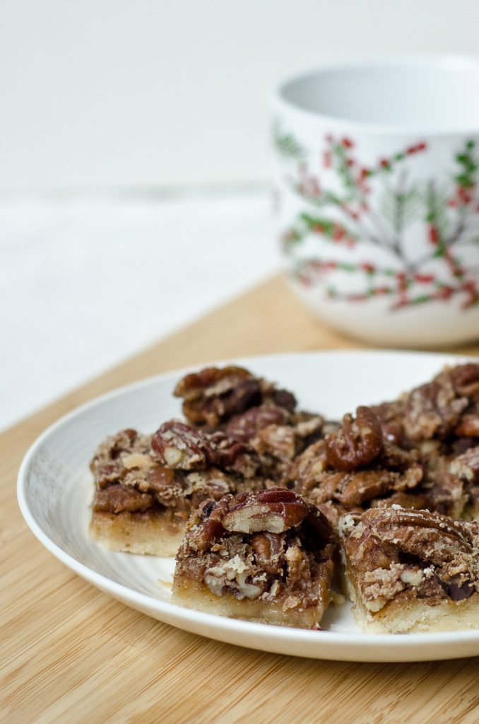 Courtney's Chocolate Pecan Butter Tarts