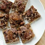 Courtney's Chocolate Pecan Butter Tart Squares