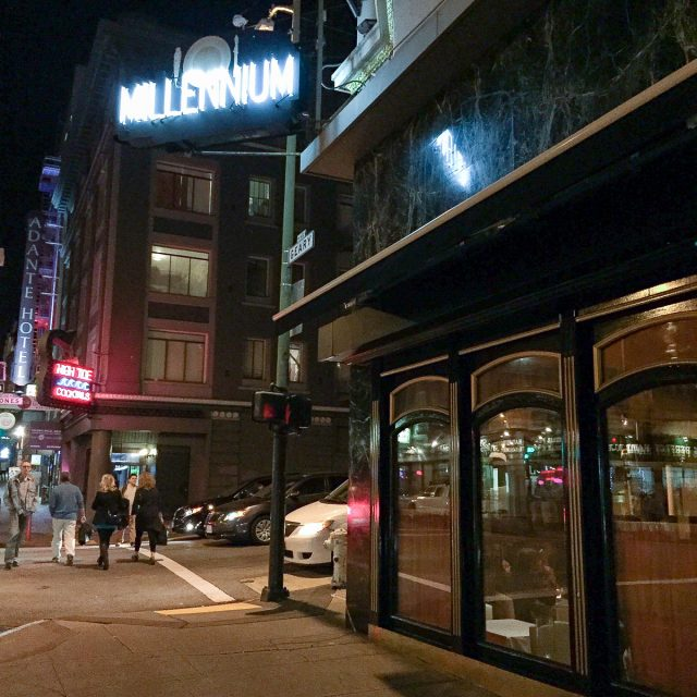 "Dining in San Francisco: Our ""Farewell to Millennium"" Dinner"