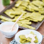 Pesto Polenta Fries with Spicy Aioli from Greens 24/7 + A GIVEAWAY!