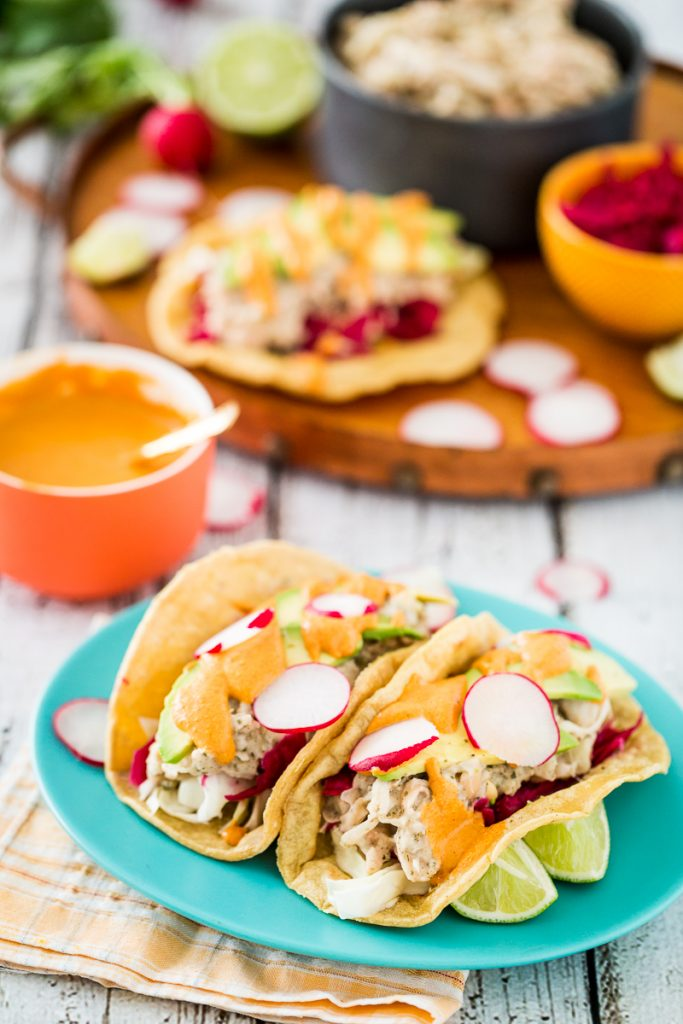Jackfruit Fish-Free Tacos