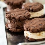 Easy, Gluten-Free, Vegan Ice Cream Sandwiches with So Delicious Cashew Milk Ice Cream