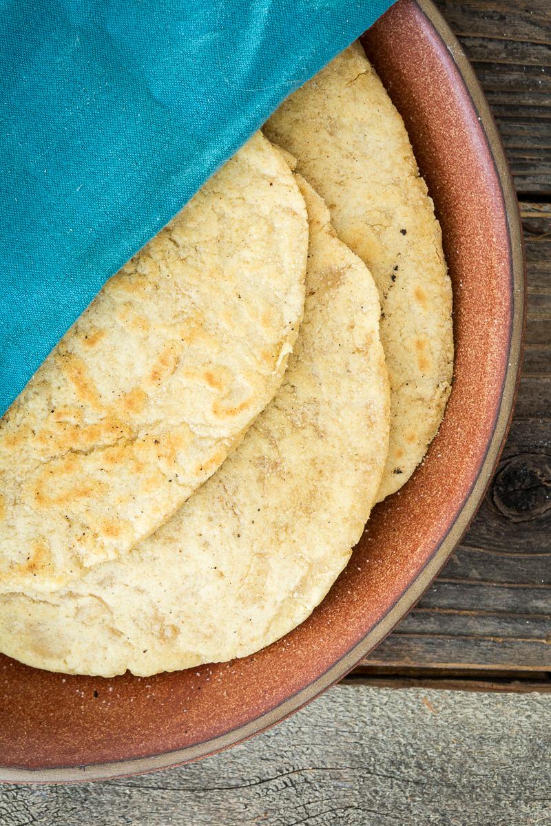 Easy, Homemade, Yeast-Free, Vegan & Gluten-Free Flatbread