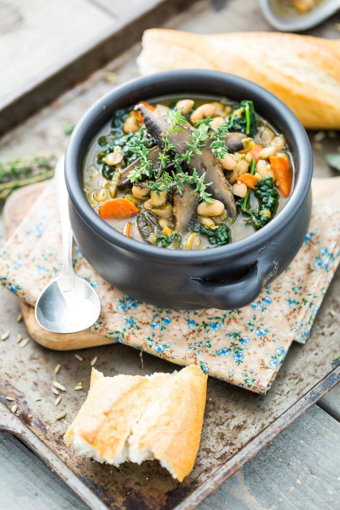 White Bean & Portobello Stew