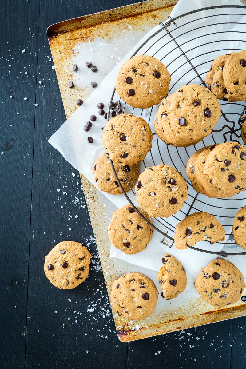 Really Wonderful Gluten-Free, Vegan Chocolate Chip Cookies